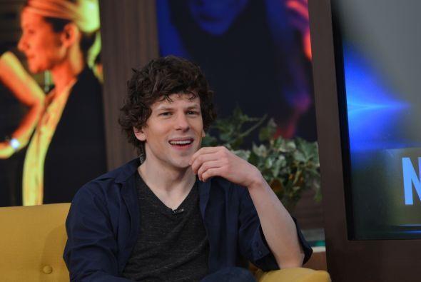 Durante la entrevista, el actor habló de su carrera y de su nueva pelícu...