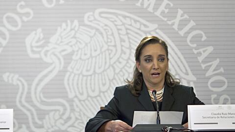 Claudia Ruiz Massieu, canciller mexicana
