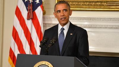 Barack Obama anunció ataques aéreos en Irak