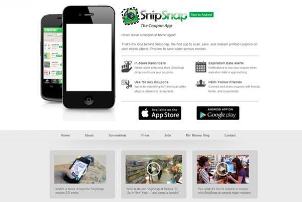 Snip Snap (snipsnap.it)  Calificación de CR: Muy bueno para aligerar tu...
