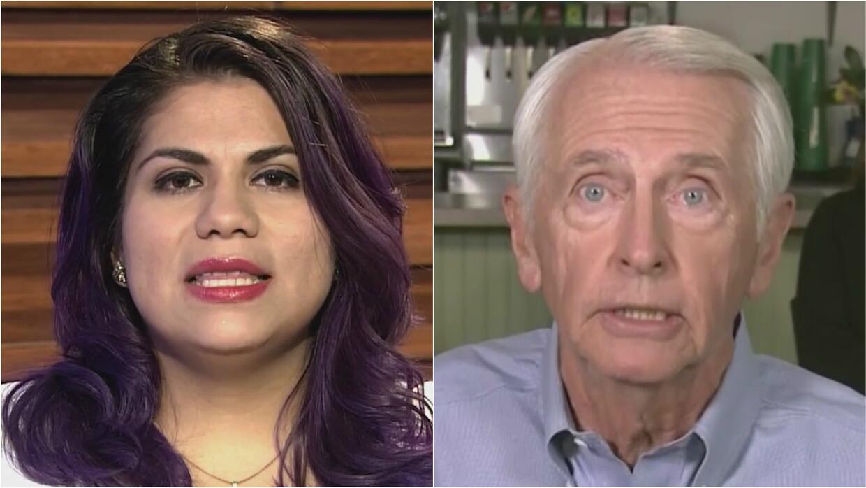 Los discursos de Astrid Silva y Steve Beshear chocaron con el de Donald...