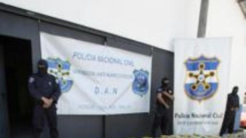 La policía hondureña asestó un fuerte golpe al narcotráfico.