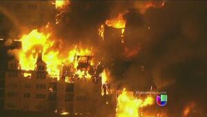 Incendio arrasa un complejo de apartamentos en Nueva Jersey