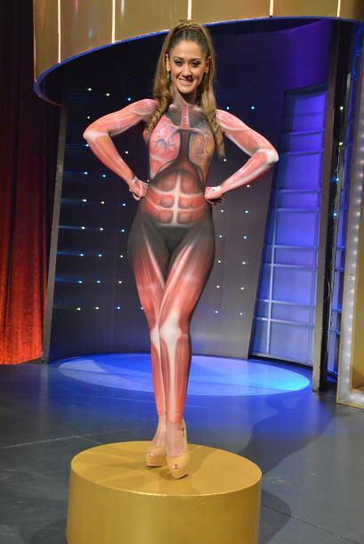 Inicialmente se le conoció como la 'modelo desnuda', pues efectivamente...