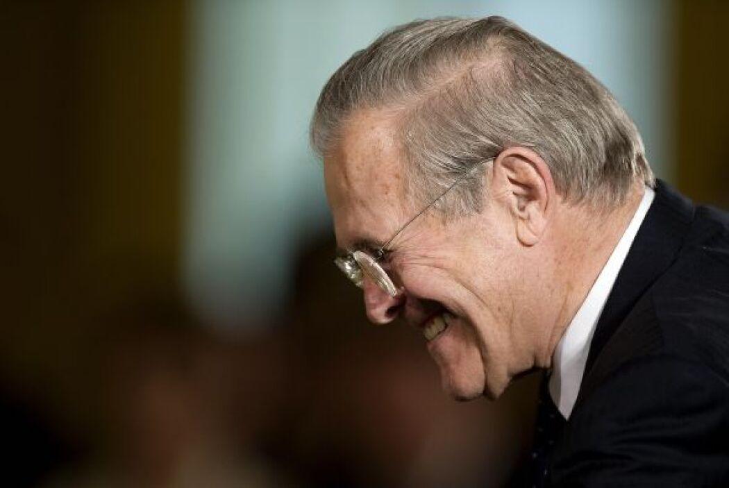 Año 2006   23. Renuncia Donald Rumsfeld   El ex Secretario de Defensa, D...