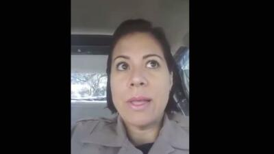 Lydia Márquez, policía