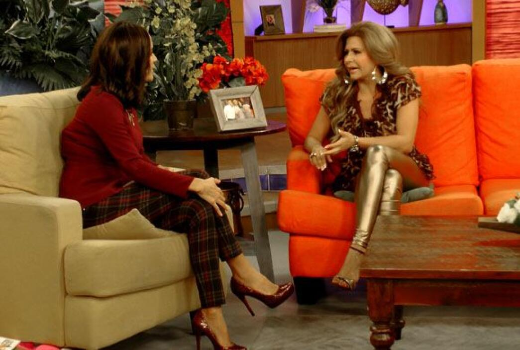 La cantante Carmen Jara estuvo de invitada en Despierta América para pre...