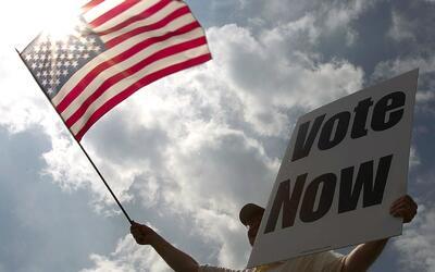 El 33% de los hispanos que pueden votar se presentaron en las urnas de l...