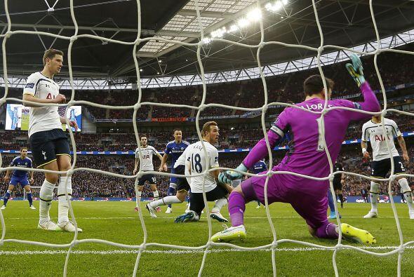 Tottenham intentó reaccionar aunque dejaría espacios en el...