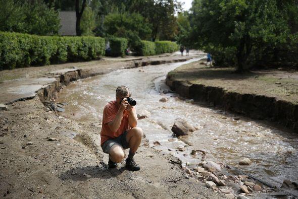 La destrucción causada por el agua (en una semana llovió l...