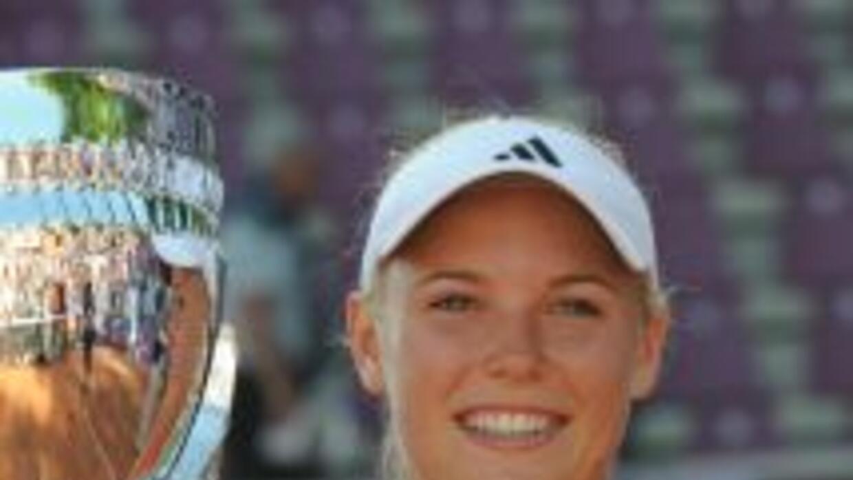 En Roland-Garros, Wozniacki, que nunca ha ganado un torneo de Grand Slam...