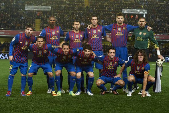 Alineaciones probables:  Barcelona: Valdés; Alves, Piqué,...