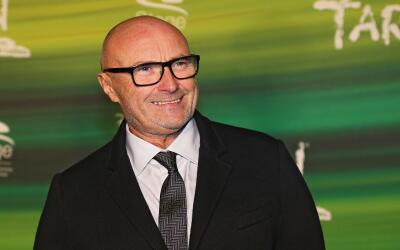 STUTTGART, GERMANY - NOVEMBER 21: Phil Collins attends the green carpet...