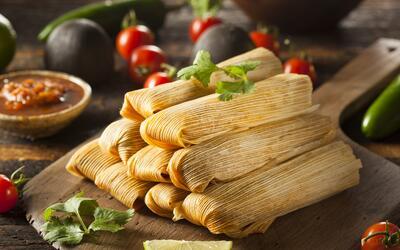 Los tamales son otro de los platos que se preparan con maíz