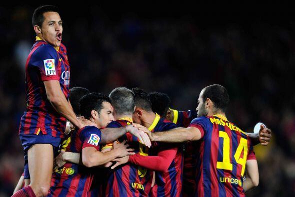 Ese gol le valió el triunfo a los 'blaugranas', una victoria más que suf...