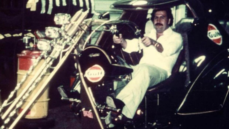 Pablo Escobar tenía colección de motocicletas y autom&oacu...