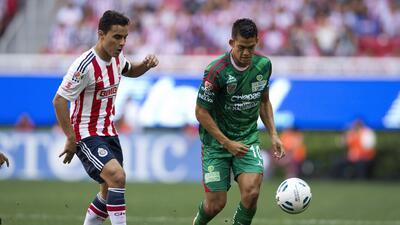 Chivas no supo mantener el triunfo y empato a un gol con Jaguares