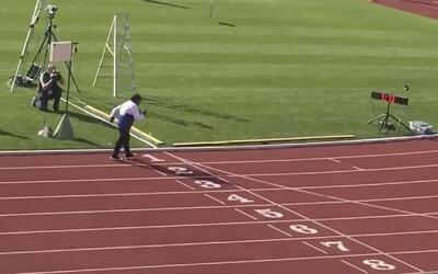 Mujer de 101 años gana una carrera de 100 metros en Nueva Zelanda