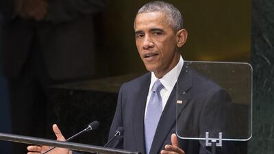 Obama: hoy le pido al mundo que se una a este esfuerzo