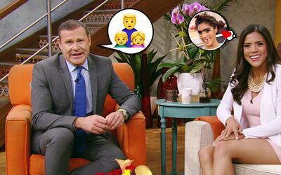 #DAEnUnMinuto: Alan sabe lo que es ser papá soltero y Francisca ya tiene...