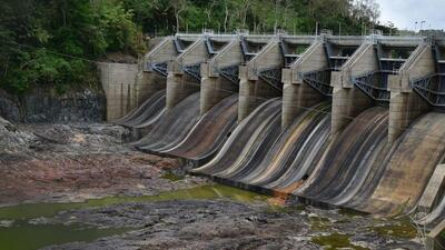 Embalse Carraizo seco