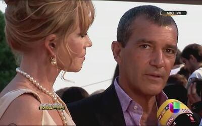 Melanie Griffith le pidió el divorcio a Antonio Banderas