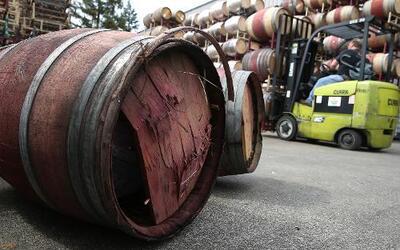 """Viñedos de Napa tuvieron pérdidas """"irremplazables"""" tras sismo"""
