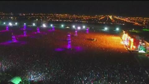 Al menos dos personas muertas dejó una estampida en el concierto del Ind...