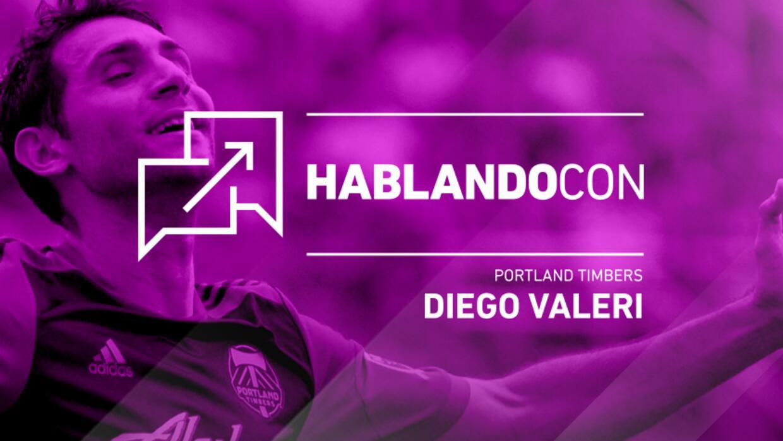 Hablando con Diego Valeri