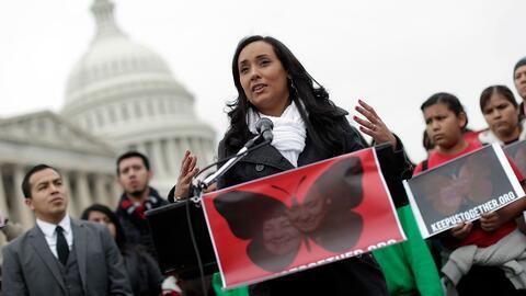 """Activista inmigrante Érika Andiola: """"Debemos empujar contra lo que dijo..."""