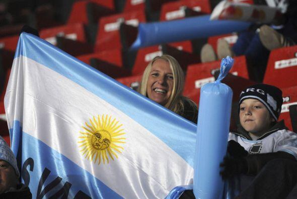 La afición argentina sigue desilusionada por lo que ha hecho su S...