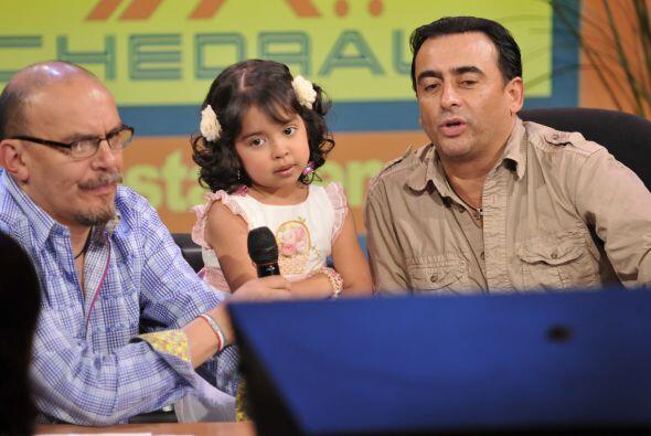 Mauricio Castillo no esperaba que una pequeña de tan corta edad t...