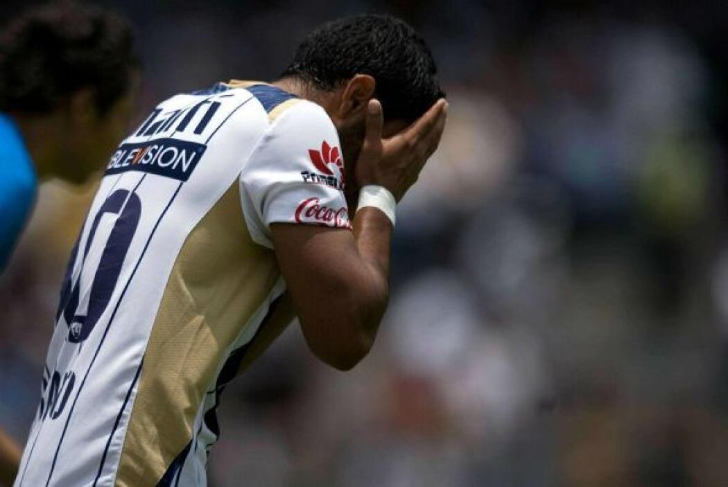 En el Apertura 2009 Pumas tendría su pero racha al acumular 4 derrotas e...