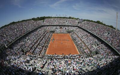 Roland Garros suele sufrir retrasos en su programa por las lluvias.