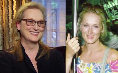 Meryl Streep nos platicó la historia detrás de su famosa foto en el metr...
