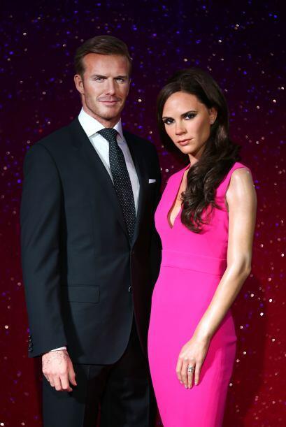 Otra pareja famosa es la de David y Victoria Beckham, ¡idénticos!
