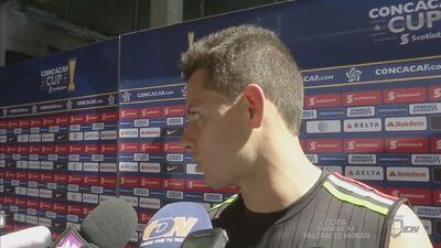 Javier Hernández: 'Necesitamos de representar a nuestro país sea contra...