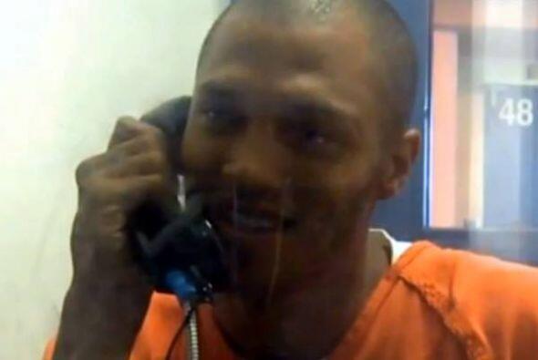 Esta fotografía fue tomada supuestamente desde el interior de la cárcel.