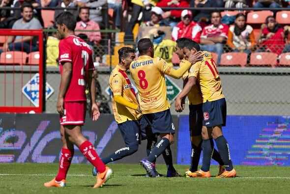 Carlos Morales y el 'Recodo' Valdés, anotaron los goles de MOrelia en el...
