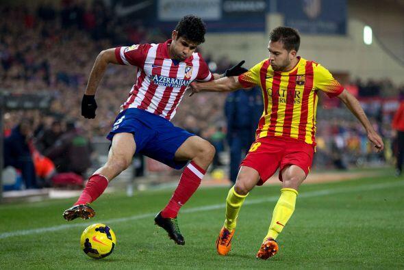 El Atlético fue más claro en el ataque pero le falt&oacute...