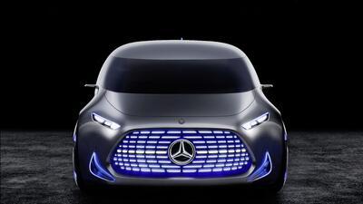 El Mercedes-Benz Vision Tokyo develado hoy en el Auto Show de Tokyo