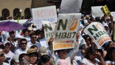 La controversial ley migratoria volvió a dominar los titulares del estad...