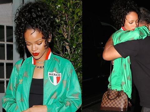 Muy nostálgica vimos a Rihanna hace unos días.Mira aqu&iac...