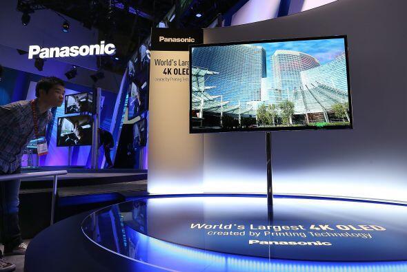 La empresa japonesa Panasonic presentó su prototipo de televisi&o...