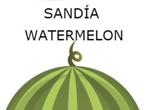 SANDÍA - WATERMELON