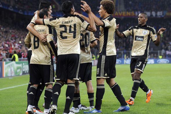 Los portugueses ganaron 2 a 0 con un tanto del paraguayo Oscar Cardozo.