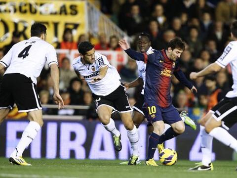 Si había un duelo de alta tensión en la fecha 22 de la Liga española era...
