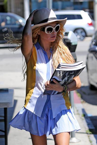 Paulina se ha caracterizado por ser muy atrevida con su estilo para vestir.