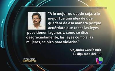 Un ex-político mexicano ofendió a las mujeres en su programa de radio