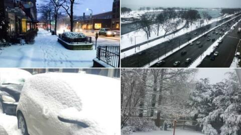 Imágenes nieve Chicago